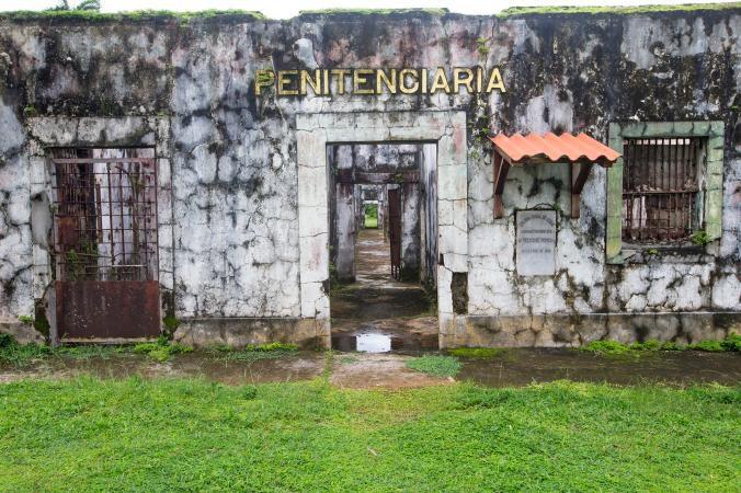 Penal de frente Isla Coiba