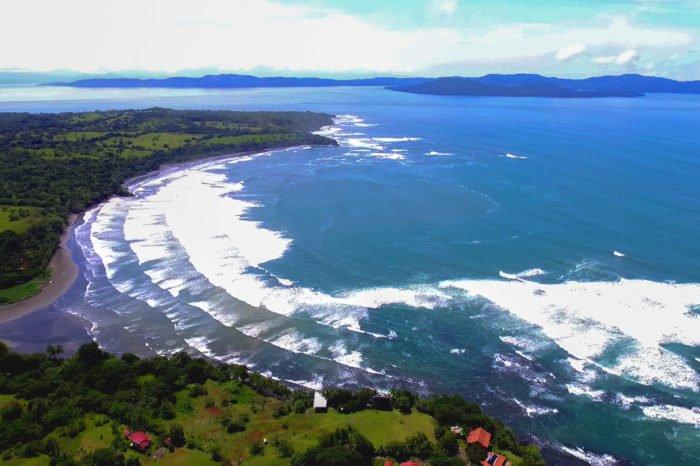 Bonita imagen aerea del entorno del hotel Santa Catalina
