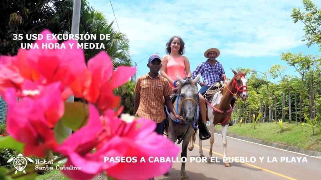 Imagen promocion de tours de caballos del hotel Santa Catalina