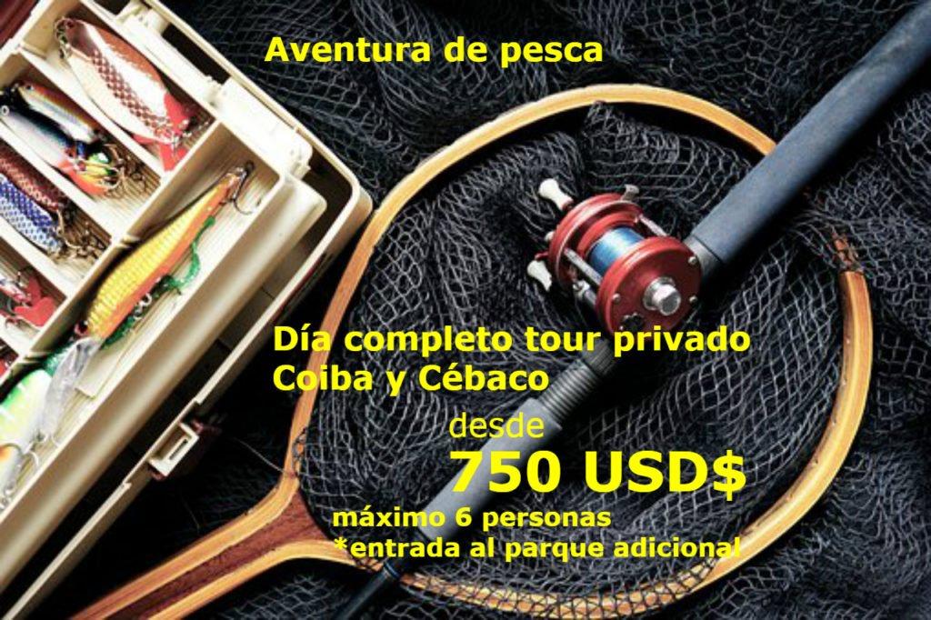 Promo tour pesca hotel Santa Catalina