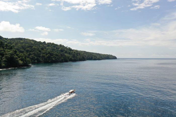 lancha solitaria isla coiba